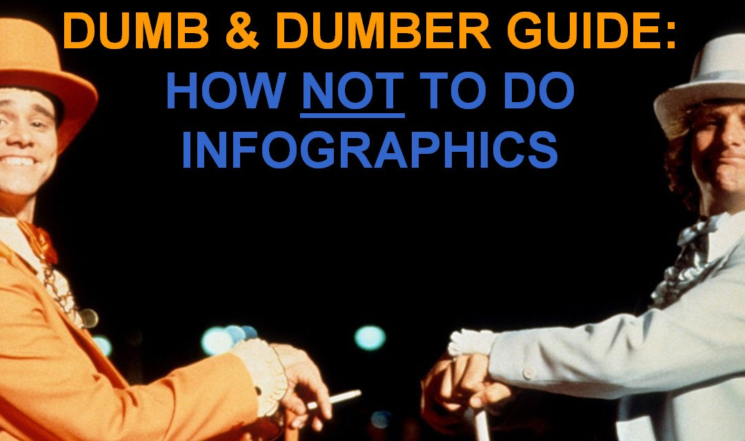 Pubcon Vegas 2014: Dumb & Dumber Guide on How NOT To Do Infographics