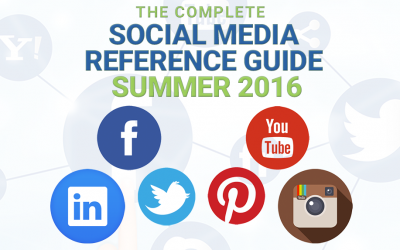Social Media Reference Guide For Summer 2016
