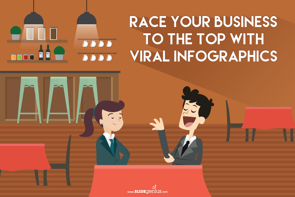 Race Your Business to the Top With Viral Infographics