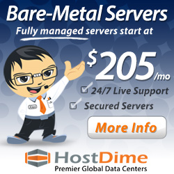 Hostdime Dedicated Servers