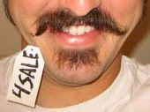 Who sold this super bad moustache on eBay