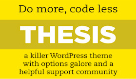 Customizing Thesis Theme For WordPress