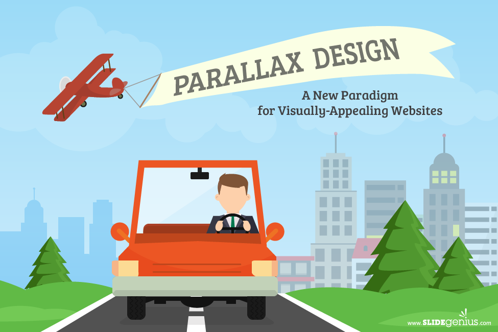 Parallax Design: A New Paradigm for Visually-Appealing Websites