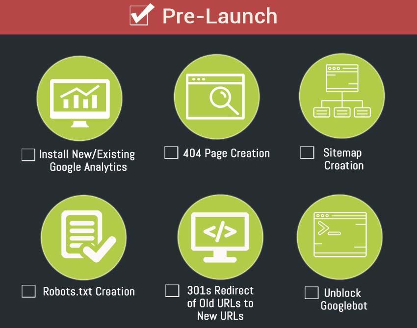 SEO Checklist Pre Launch
