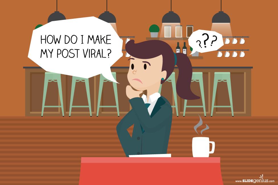 How do I make my post viral?