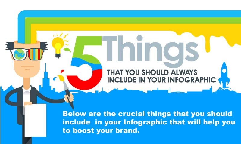 5 Things To Always Include in Infographic Design